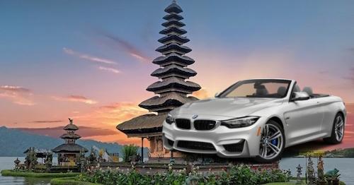 sewa mobil bmw di Bali lepas kunci